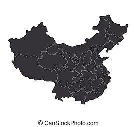Čínská mapa