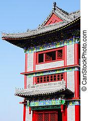 Čínská stará budova