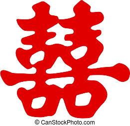 Čínský symbol štěstí