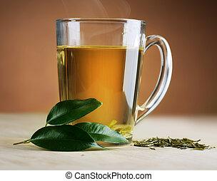 čaj, nezkušený