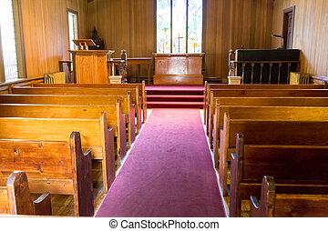 čas, dávný přivést do kostela