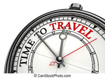 Čas na cestování