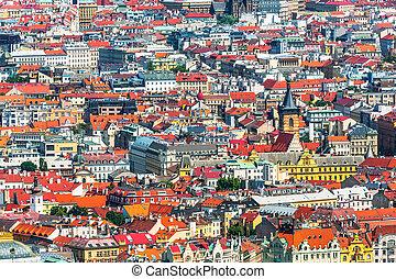 čech republika, architektura, praha