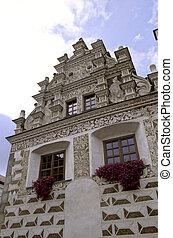 čech, tabor, architecture-, republika