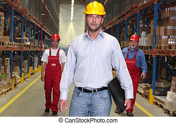 čelo, -, workforce, boss