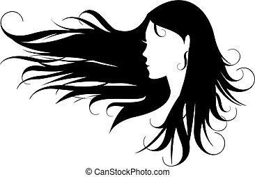 Černé vlasy