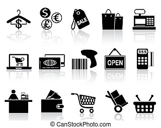 Černý obchod a nákupy