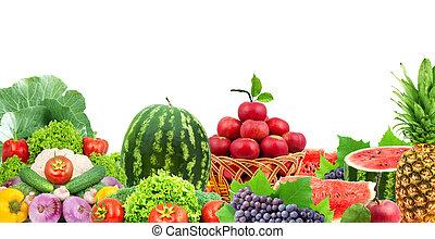čerstvá zelenina, dary