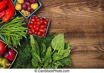 Čerstvé ovoce a zeleninu