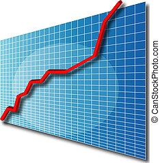 řádka, 3, up, graf