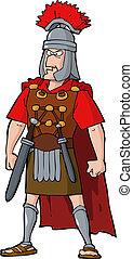 římský, důstojník