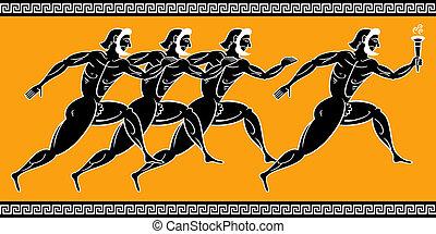 řečtina, sanice