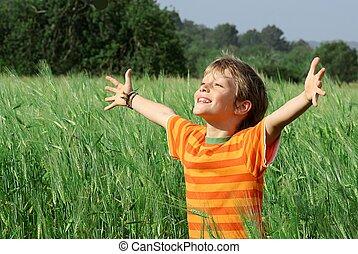 Šťastné a veselé dítě