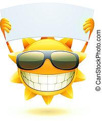 Šťastné léto slunce