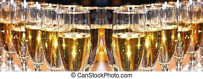 šampaňské, oslava