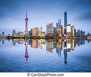 Šanghaj, obloha města