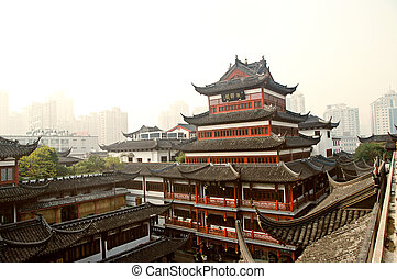 Šanghajská brada dobrá. 15. Yuyuanská zahrada