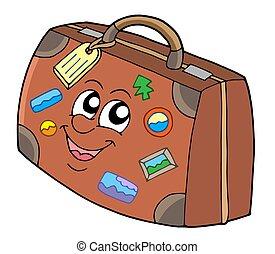 šikovný, kufr