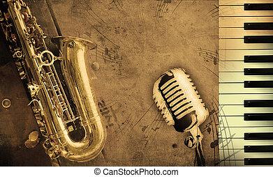 Špinavé hudební pozadí