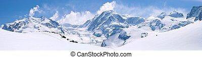 Švýcarská horská krajina
