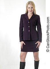 Ženský obchodní oblek