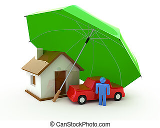živost, domů, pojištění, vůz