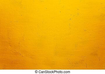 Žlutá stěna pro strukturu
