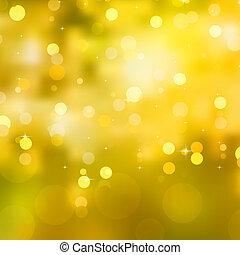 Žlutá vánoční pozadí. Eps 10