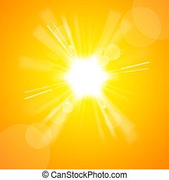 Žluté slunce