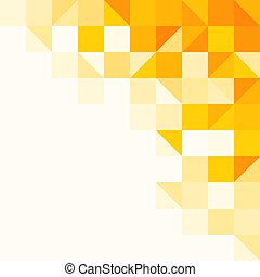Žlutý abstraktní vzor