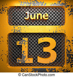 13. června natržená ocel