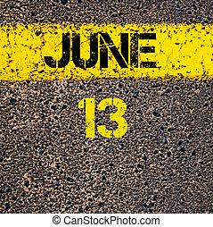 13. denní den na cestě na červenou čáru