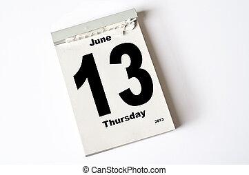 13. June 2013