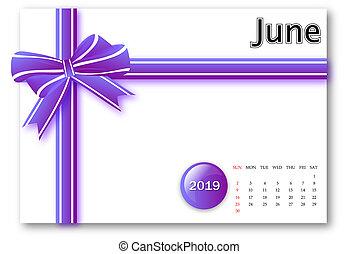 20. června 19. kalendářní sérií s dárkovou stužkou
