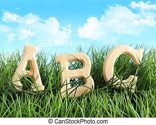 abeceda, literatura, pastvina