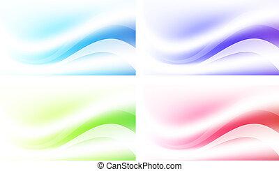 abstraktní, dát, grafické pozadí, mnohobarevný