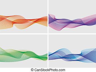 abstraktní, dát, grafické pozadí, (vector)