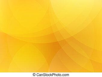 Abstraktní oranžová a žlutá tapeta