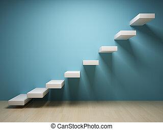 Abstraktní schody