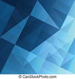 Abstraktní trojúhelníky. Vektor, Eps10