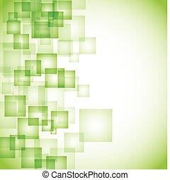 Abstraktní zelená plocha