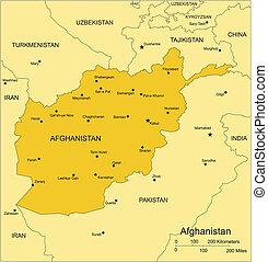 Afghánistán s okolními státy