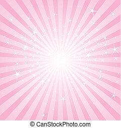 Aktivní růžové hvězdy a pruhy