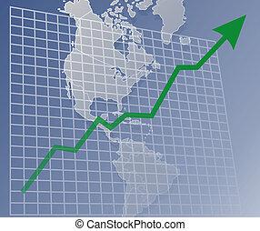 americas, up, graf
