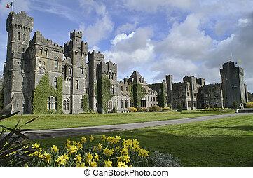 ashford vě, hrabství, ireland., mayo, slavný