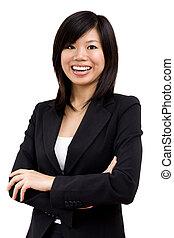 Asiatská obchodní žena