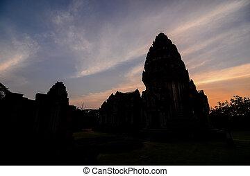 asie, phimai, thai, troska, fotografie, thajsko, překrásný, zaujatý