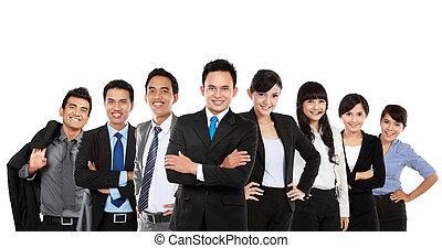 Asijský obchodní tým