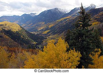 Autumní hory