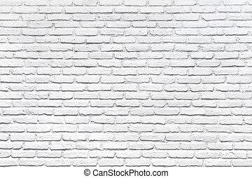 Bílá cihlová zeď pro pozadí